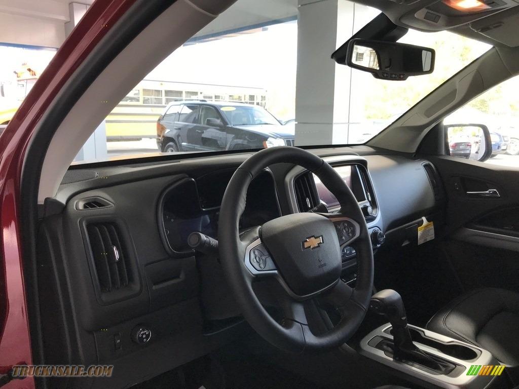 2018 Colorado LT Extended Cab - Cajun Red Tintcoat / Jet Black photo #13