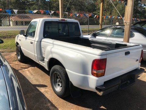 Oxford White 2000 Ford Ranger XLT Regular Cab