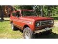International Scout II  Tahitian Red Metallic photo #3