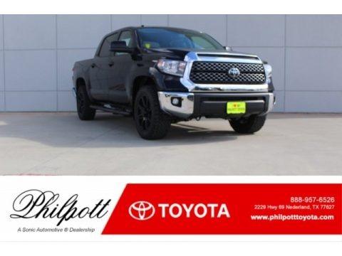 Midnight Black Metallic 2018 Toyota Tundra TSS CrewMax