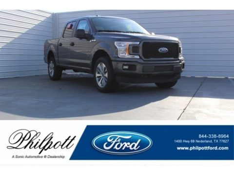 Magnetic 2018 Ford F150 XL SuperCrew 4x4