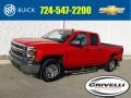 Chevrolet Silverado 1500 WT Double Cab 4x4 Victory Red photo #1