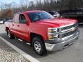 Chevrolet Silverado 1500 WT Double Cab 4x4 Victory Red photo #6