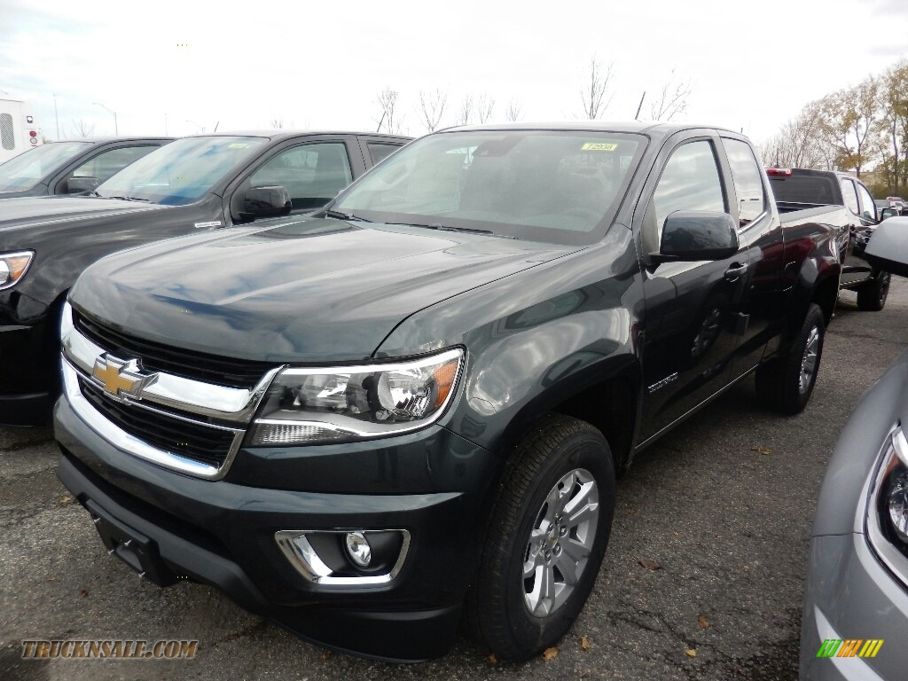 Graphite Metallic / Jet Black Chevrolet Colorado LT Extended Cab 4x4