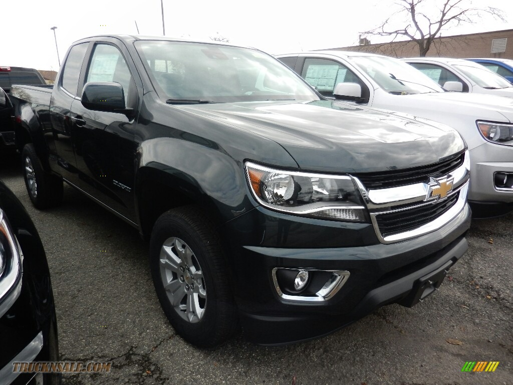 2018 Colorado LT Extended Cab 4x4 - Graphite Metallic / Jet Black photo #3