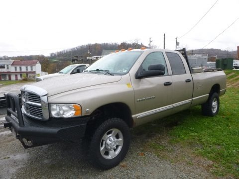 Bright Silver Metallic 2005 Dodge Ram 3500 ST Quad Cab 4x4