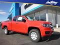Chevrolet Colorado WT Extended Cab 4x4 Red Hot photo #1
