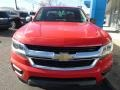 Chevrolet Colorado WT Extended Cab 4x4 Red Hot photo #8