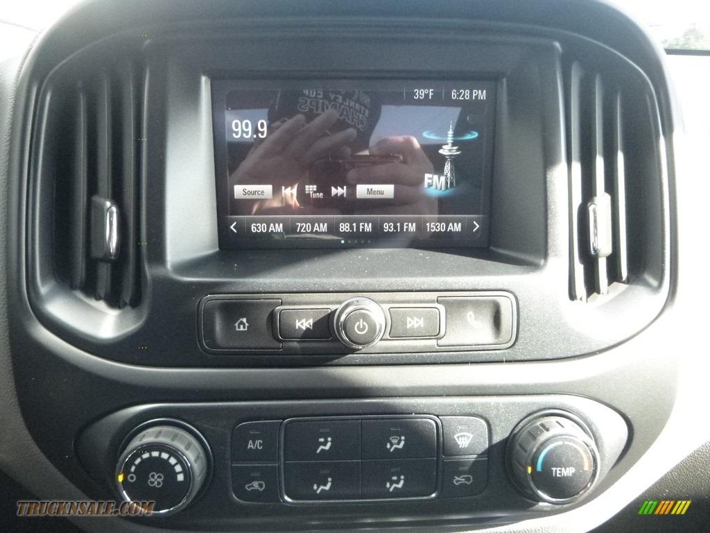 2018 Colorado WT Extended Cab 4x4 - Red Hot / Jet Black/Dark Ash photo #17