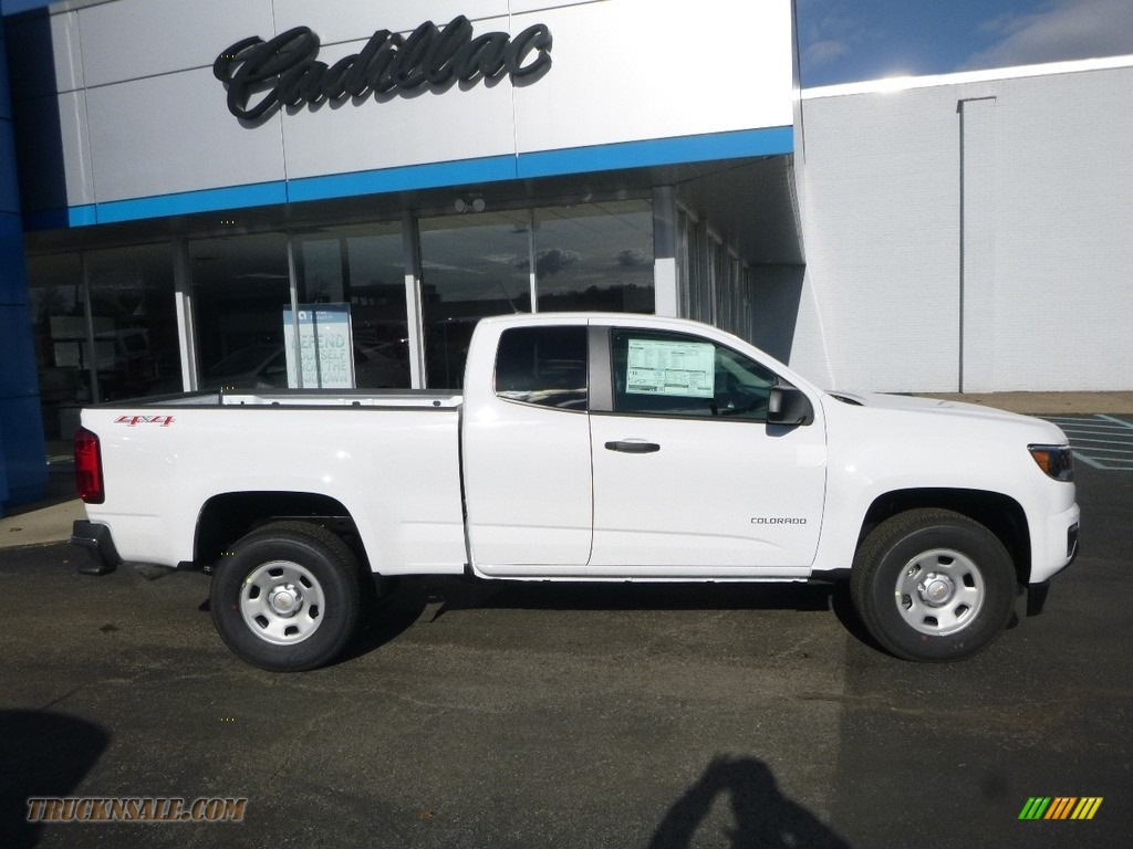2018 Colorado WT Extended Cab 4x4 - Summit White / Jet Black/Dark Ash photo #3