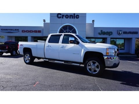 Summit White 2013 Chevrolet Silverado 2500HD Work Truck Crew Cab 4x4