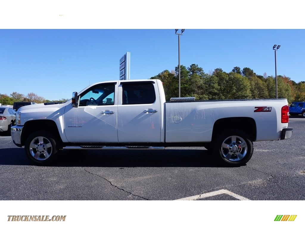2013 Silverado 2500HD Work Truck Crew Cab 4x4 - Summit White / Dark Titanium photo #4