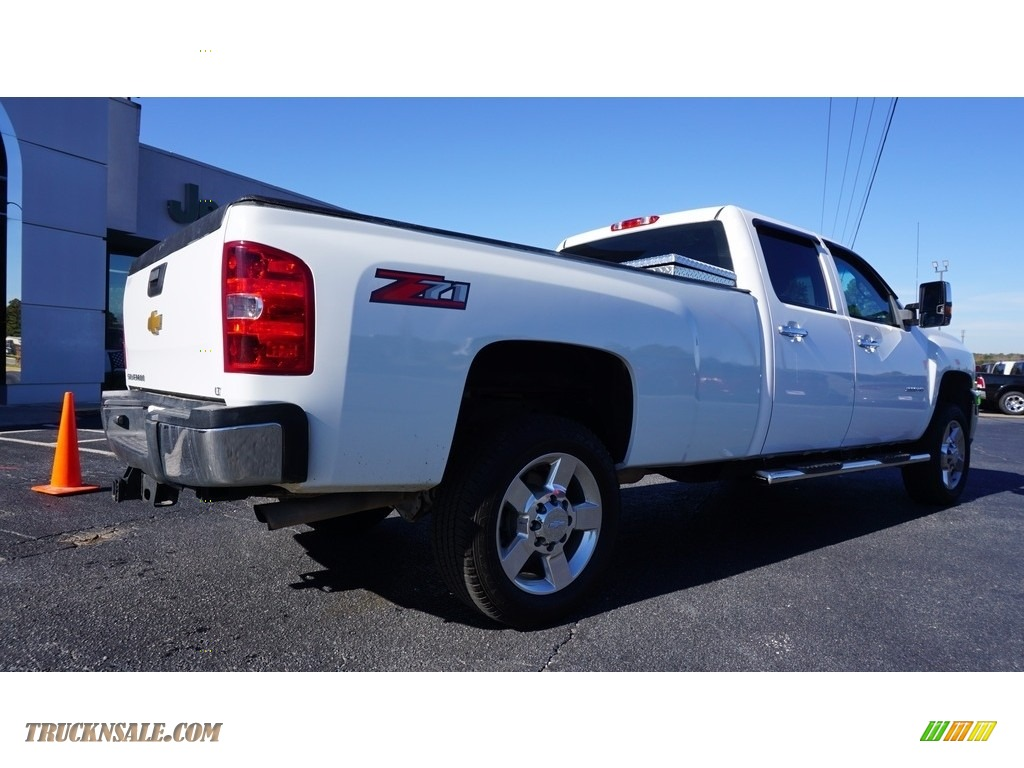 2013 Silverado 2500HD Work Truck Crew Cab 4x4 - Summit White / Dark Titanium photo #6