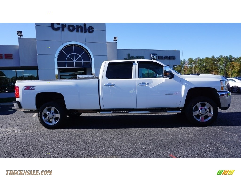 2013 Silverado 2500HD Work Truck Crew Cab 4x4 - Summit White / Dark Titanium photo #7