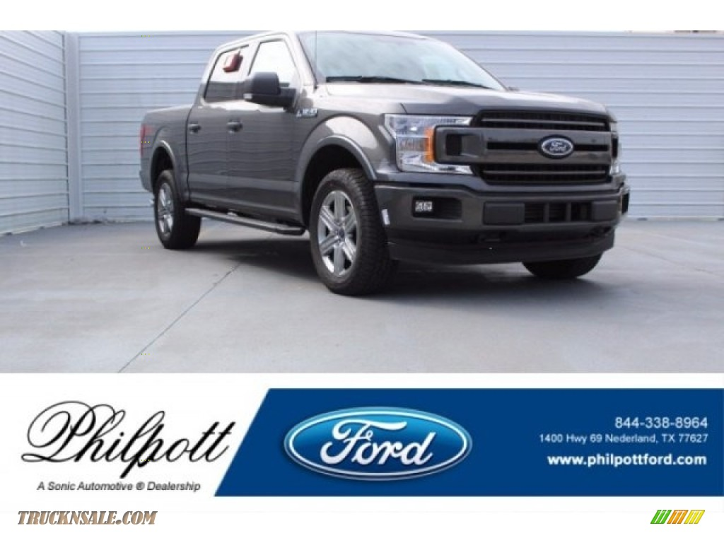 2018 F150 XLT SuperCrew 4x4 - Magnetic / Black photo #1
