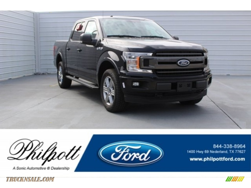 2018 F150 XLT SuperCrew 4x4 - Shadow Black / Black photo #1