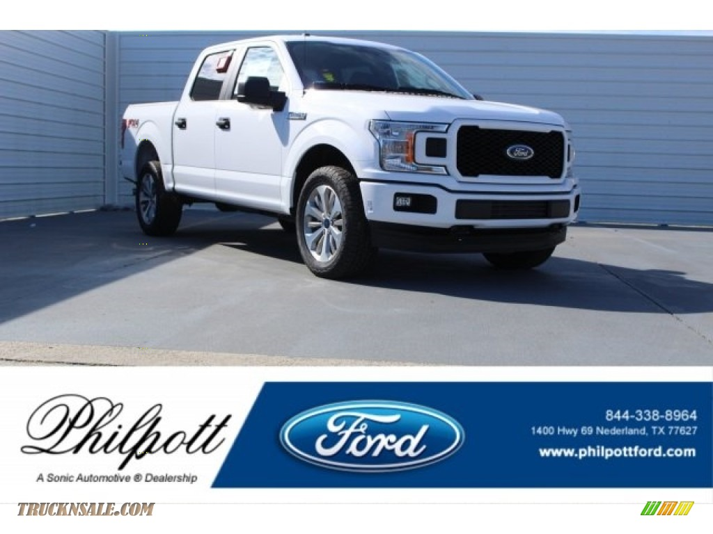 Oxford White / Earth Gray Ford F150 XL SuperCrew 4x4