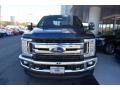 Ford F250 Super Duty XLT Crew Cab 4x4 Blue Jeans photo #4