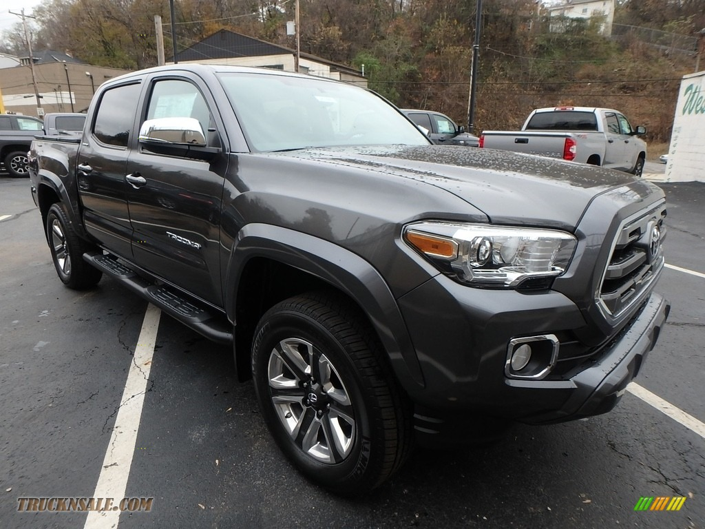 Magnetic Gray Metallic / Limited Hickory Toyota Tacoma Limited Double Cab 4x4