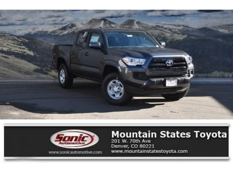 Magnetic Gray Metallic 2017 Toyota Tacoma SR Double Cab 4x4