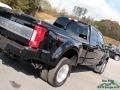Ford F450 Super Duty Platinum Crew Cab 4x4 Shadow Black photo #37