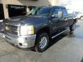 Chevrolet Silverado 2500HD LT Crew Cab 4x4 Blue Granite Metallic photo #2