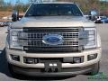 Ford F450 Super Duty Platinum Crew Cab 4x4 White Gold photo #8
