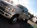 Ford F450 Super Duty Platinum Crew Cab 4x4 White Gold photo #35
