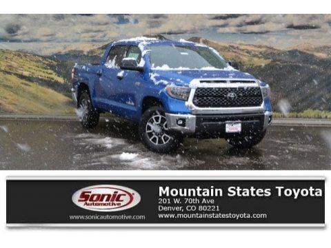Blazing Blue Pearl 2018 Toyota Tundra SR5 CrewMax 4x4