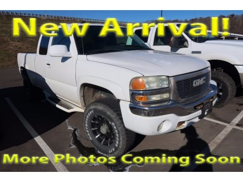Summit White 2004 GMC Sierra 1500 SLE Extended Cab 4x4