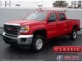GMC Sierra 2500HD Crew Cab 4x4 Cardinal Red photo #1