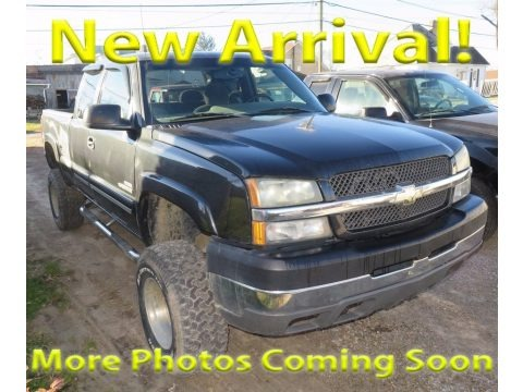 Dark Gray Metallic 2004 Chevrolet Silverado 2500HD LS Extended Cab 4x4