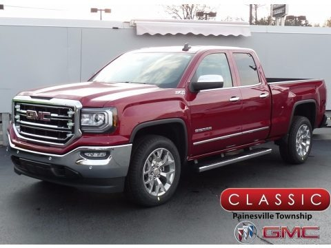 Red Quartz Tintcoat 2018 GMC Sierra 1500 SLT Double Cab 4WD
