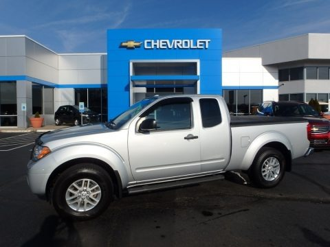 Brilliant Silver 2015 Nissan Frontier SV King Cab 4x4