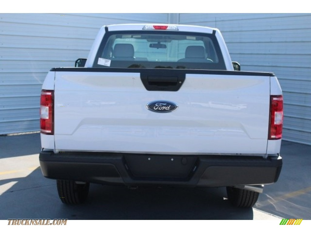 2018 F150 XL Regular Cab - Oxford White / Earth Gray photo #8