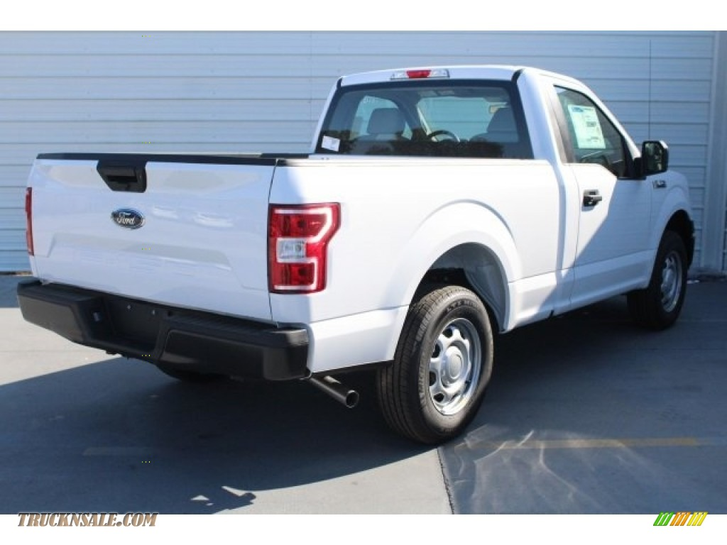 2018 F150 XL Regular Cab - Oxford White / Earth Gray photo #9