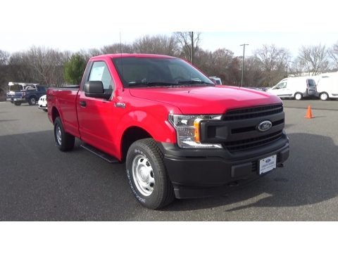 Race Red 2018 Ford F150 XL Regular Cab 4x4