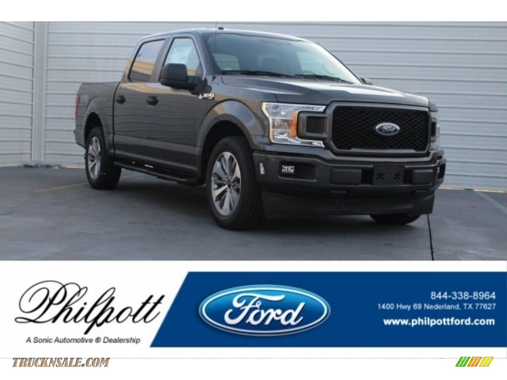 Magnetic / Earth Gray Ford F150 STX SuperCrew