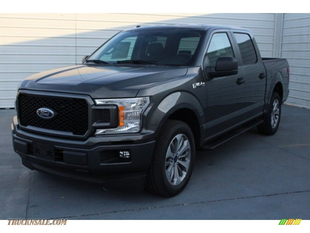 2018 F150 STX SuperCrew - Magnetic / Earth Gray photo #3
