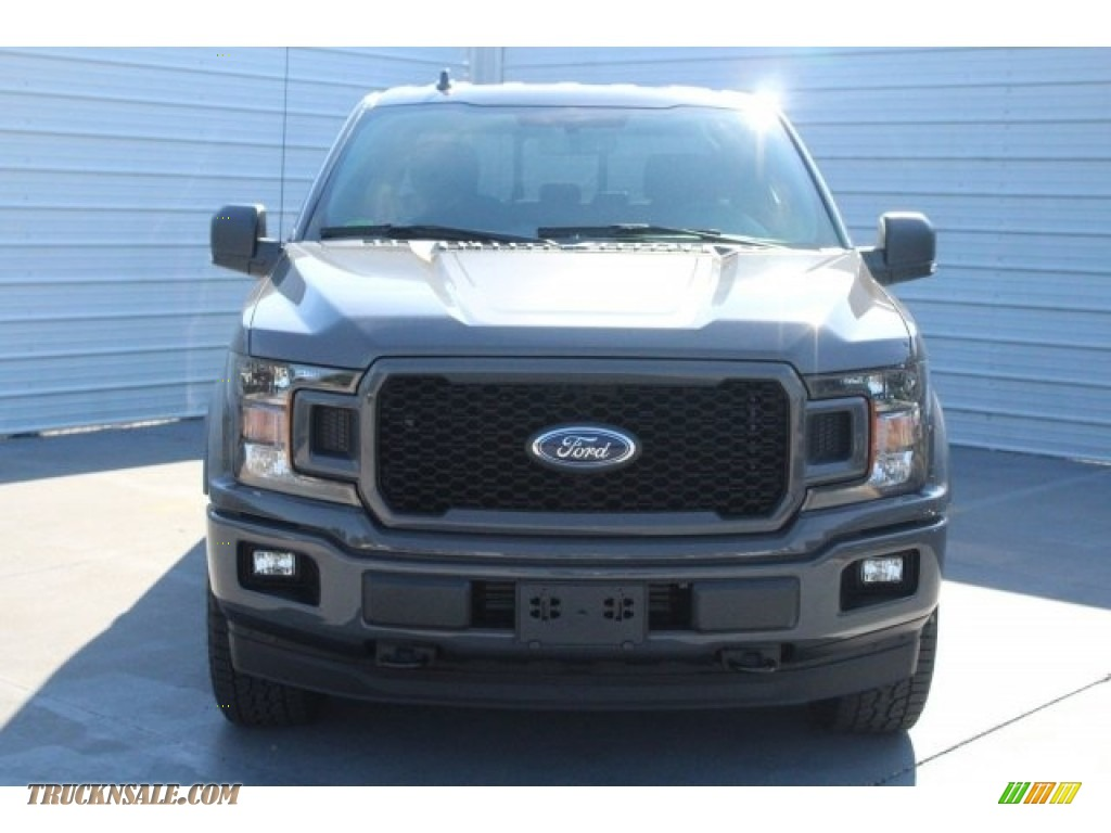 2018 F150 XLT SuperCrew 4x4 - Lead Foot / Special Edition Black/Red photo #2
