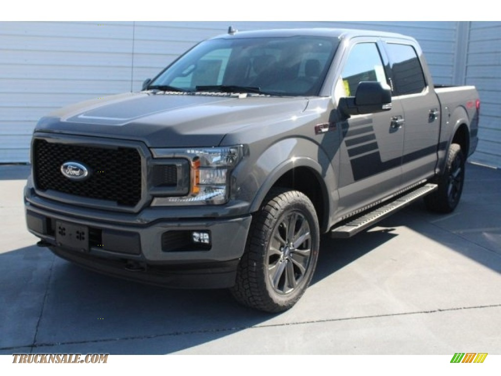 2018 F150 XLT SuperCrew 4x4 - Lead Foot / Special Edition Black/Red photo #3
