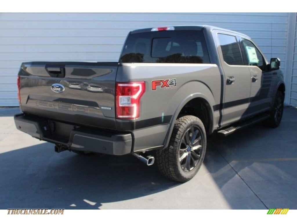 2018 F150 XLT SuperCrew 4x4 - Lead Foot / Special Edition Black/Red photo #8
