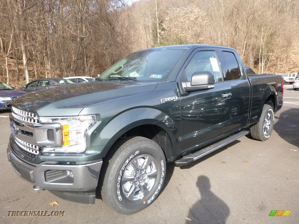 2018 F150 XLT SuperCab 4x4 - Magnetic / Earth Gray photo #4