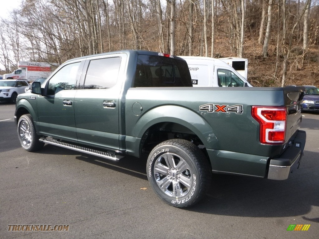 2018 F150 XLT SuperCrew 4x4 - Magnetic / Earth Gray photo #6