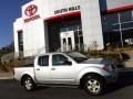 Nissan Frontier SE Crew Cab 4x4 Radiant Silver photo #2