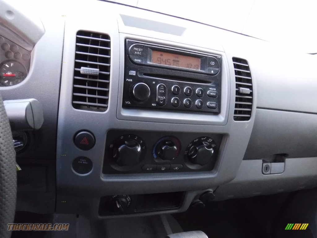 2007 Frontier SE Crew Cab 4x4 - Radiant Silver / Steel photo #20
