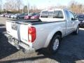 Nissan Frontier SV King Cab 4x4 Brilliant Silver photo #4