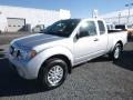 Nissan Frontier SV King Cab 4x4 Brilliant Silver photo #8