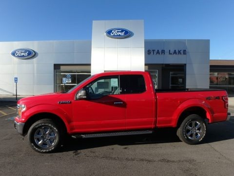 Race Red 2018 Ford F150 XLT SuperCab 4x4