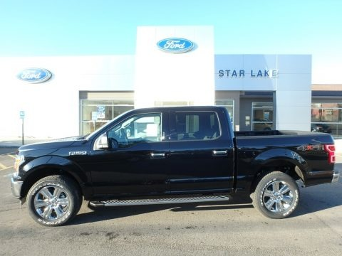 Shadow Black 2018 Ford F150 XLT SuperCrew 4x4